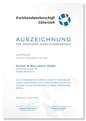 Hunke Und Bullmann Gütersloh hunke & bullmann | ausbildung